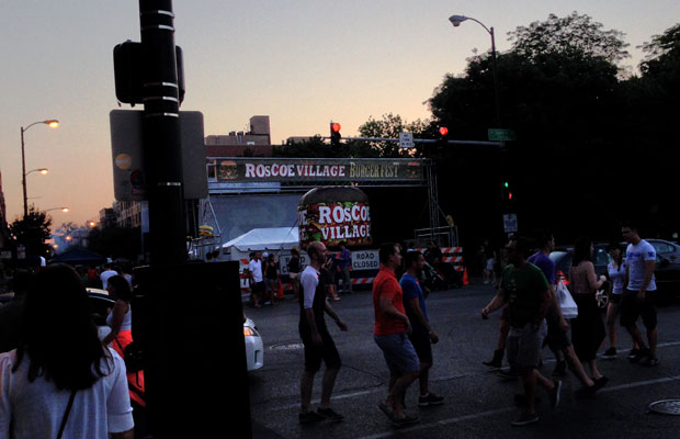 roscoe village burger fest chicago