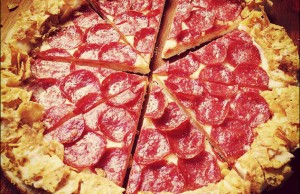 doritos crunchy crust pizza hut