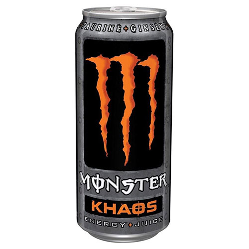 monster khaos energy drink