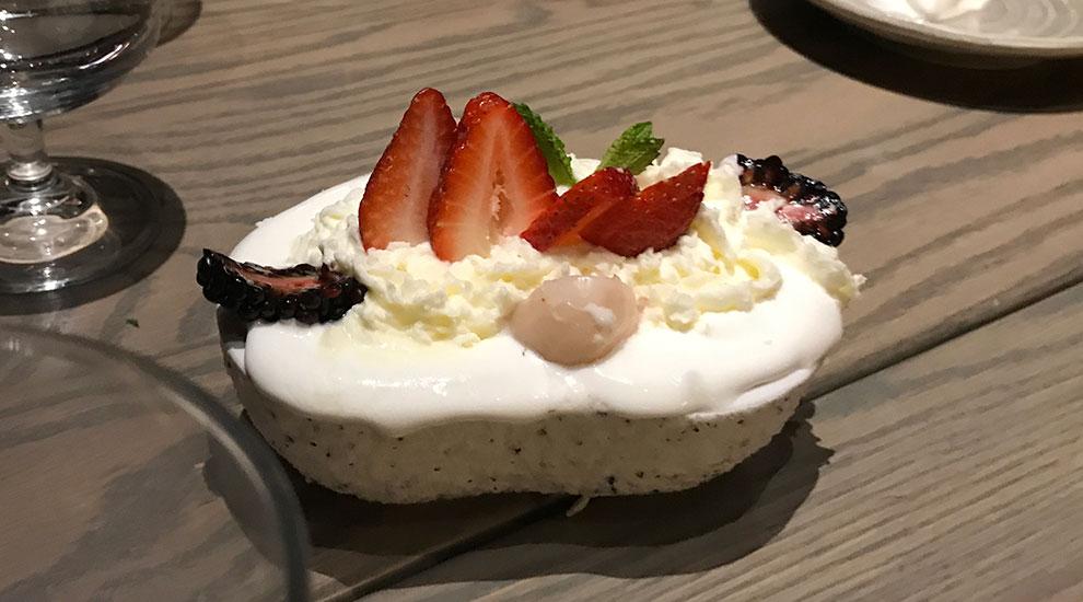 lychee frozen yogurt franklin room chicago