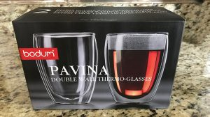 bodum pavina double wall glass review
