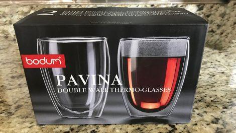 bodum pavina double wall glass review