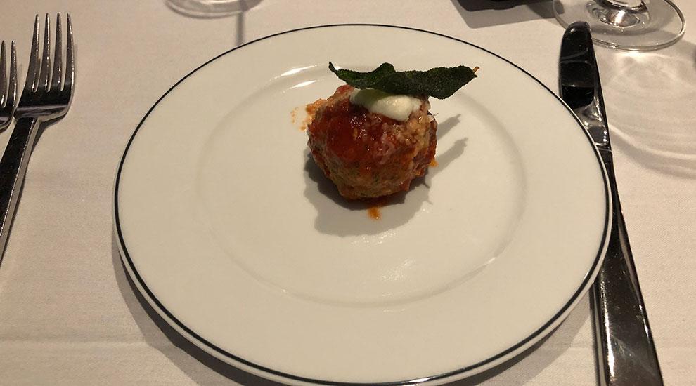 gibsons italia chicago meatball