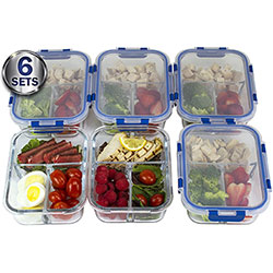 misc home lifetime lids meal prep containers