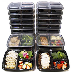 misc home plastic meal prep containers