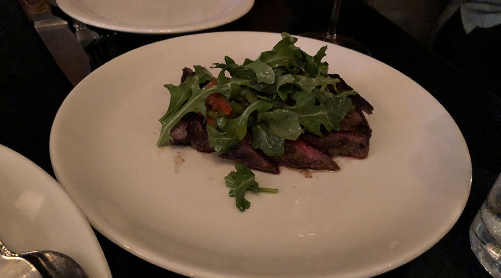 flat iron steak el che bar chicago