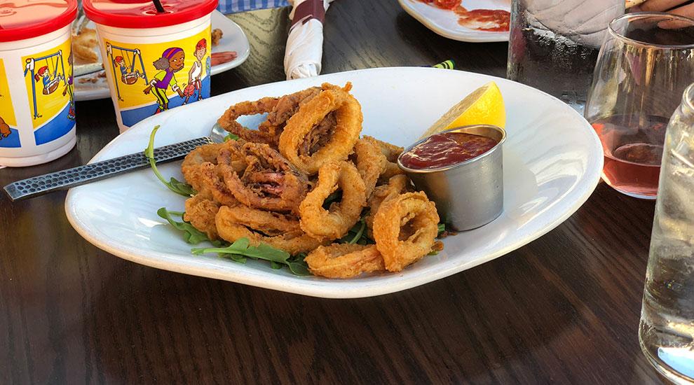 fried calamari lucky fish northbrook