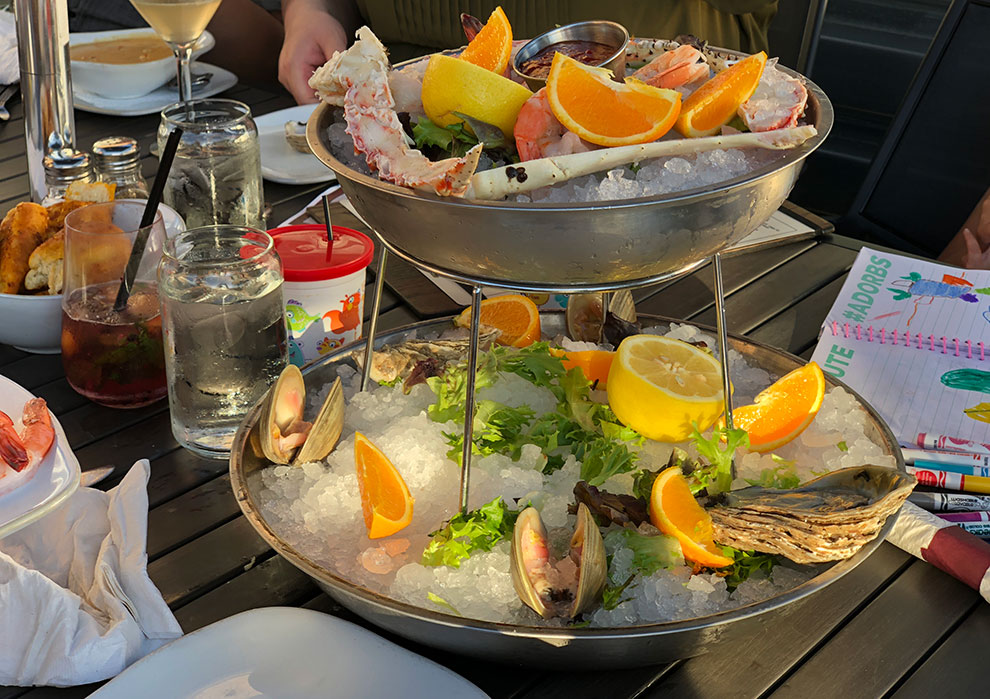seafood tower lucky fish northbrook