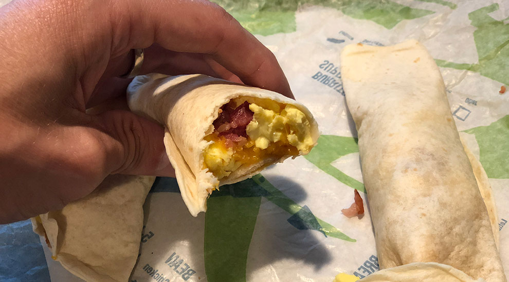 breakfast tacos taco bell chicago
