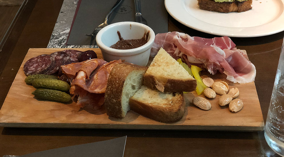 cured meats and pickles ella elli chicago