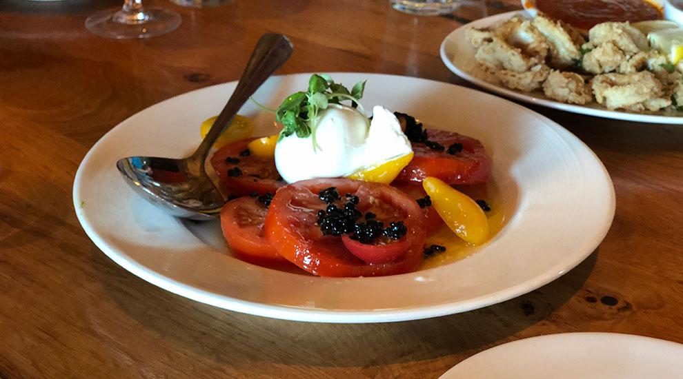 tomato caprese saranellos wheeling