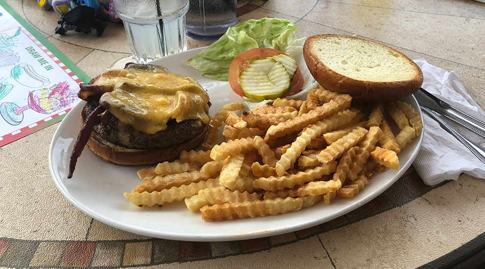 tillamook cheddar burger morettis morton grove