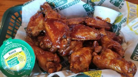 atomic wings challenge quaker steak and lube