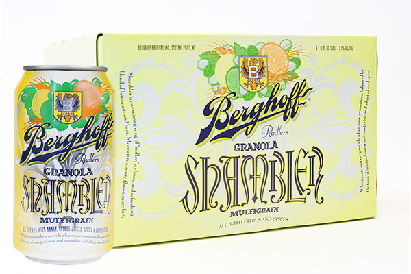 berghoff shambler summer beer 6 pack cans