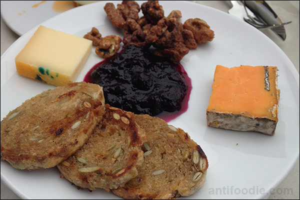 j parker chicago rooftop cheese plate