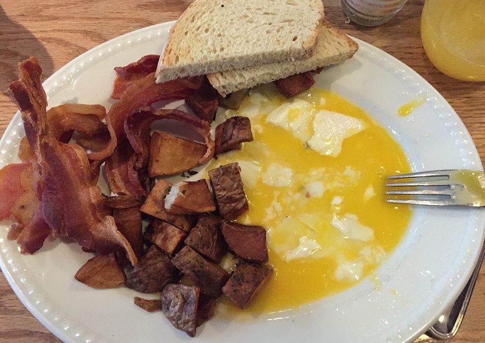 eggs miss rickys virgin hotel chicago