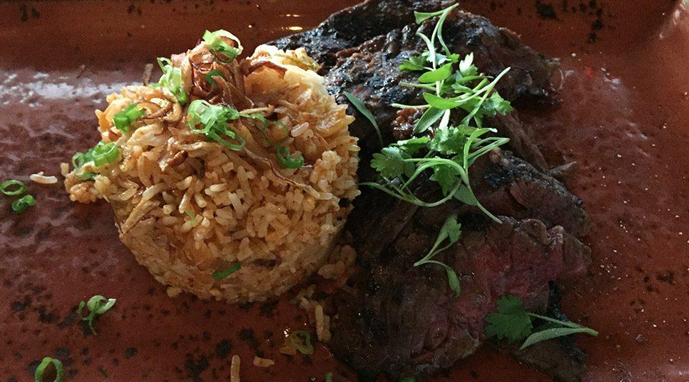 kalbi skirt steak eo restaurant