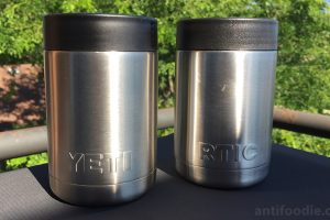 yeti colster vs rtic can cooler test