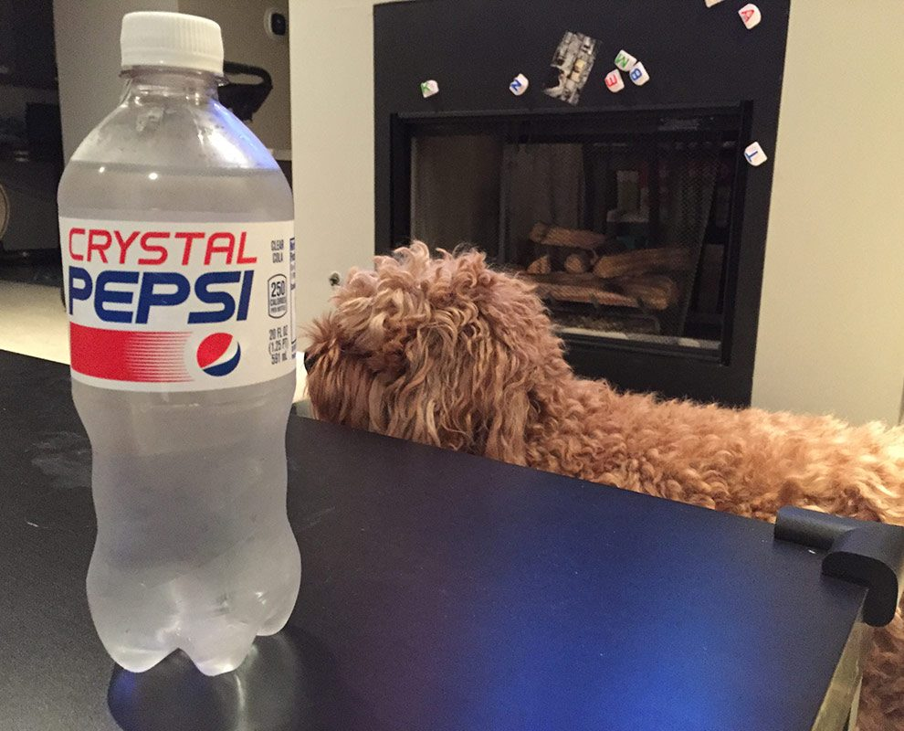 crystal pepsi vs regular pepsi