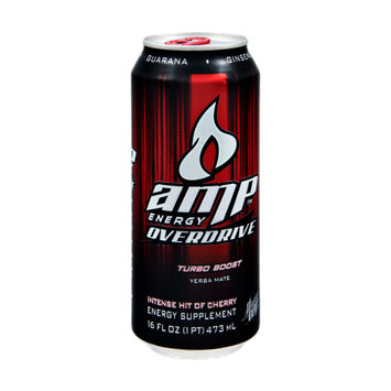 amp energy overdrive cherry energy