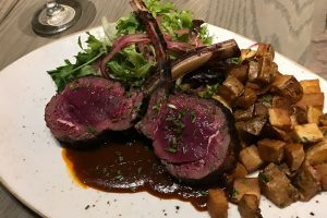 venison chops franklin room chicago