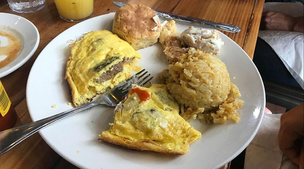 chef omelet the row nashville