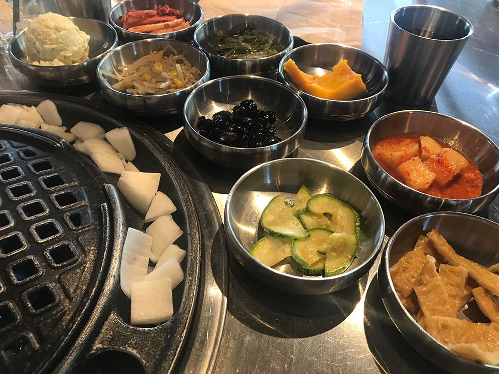 daebak korean bbq chicago chinatown side dishes