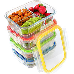chef fresh meal prep containers