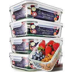 prep naturals glass meal prep container