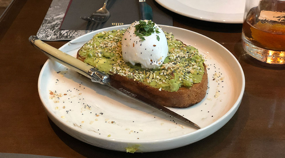avocado toast ella elli chicago