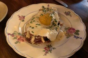 serrano ham duck egg mornay the loyalist chicago