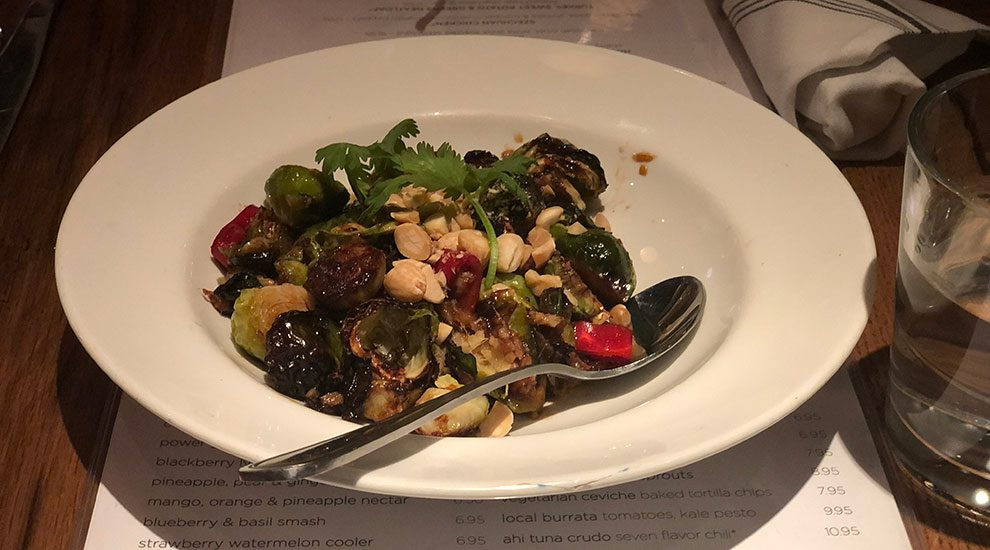 kung pao brussels sprouts beatrix chicago