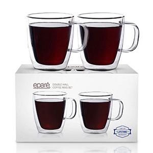 epare insulated coffee mug