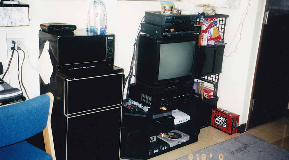 dorm room 2000