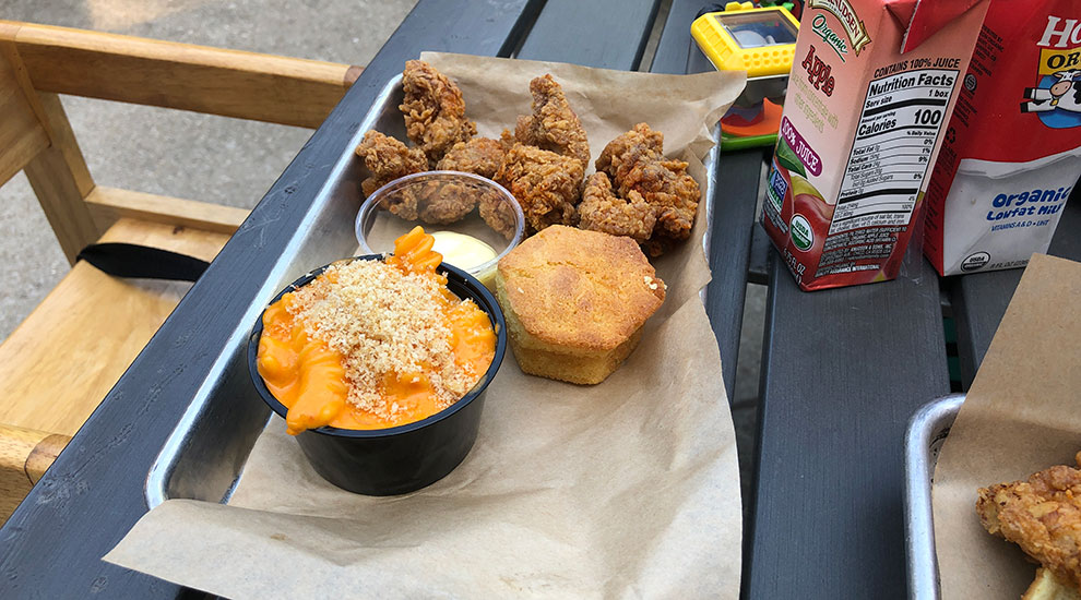 honey butter fried chicken kids meal