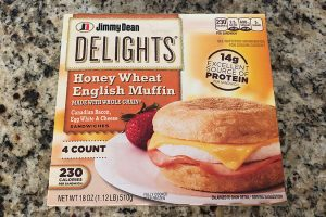 jimmy dean breakfast sandwich review