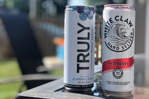 truly vs white claw hard seltzer
