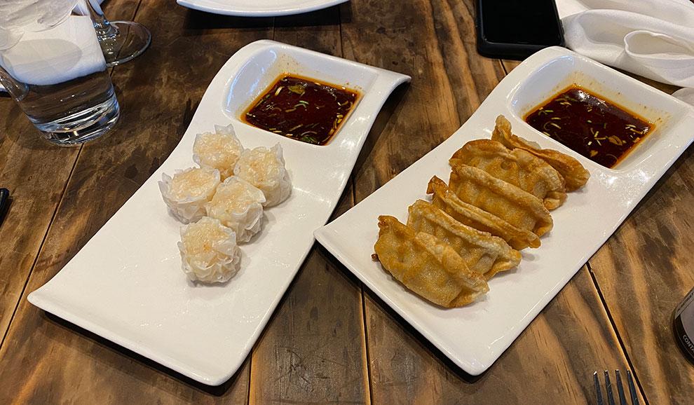 skipjack glenview appetizers dumplings