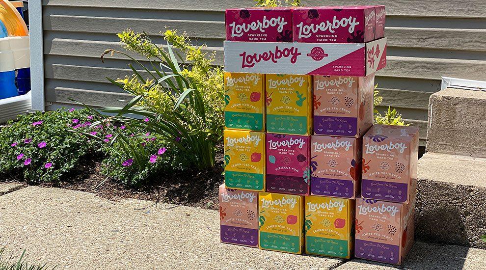 loverboy sparkling hard tea review
