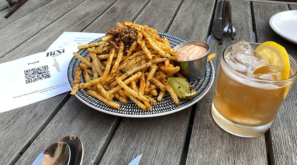 bixi beer frites