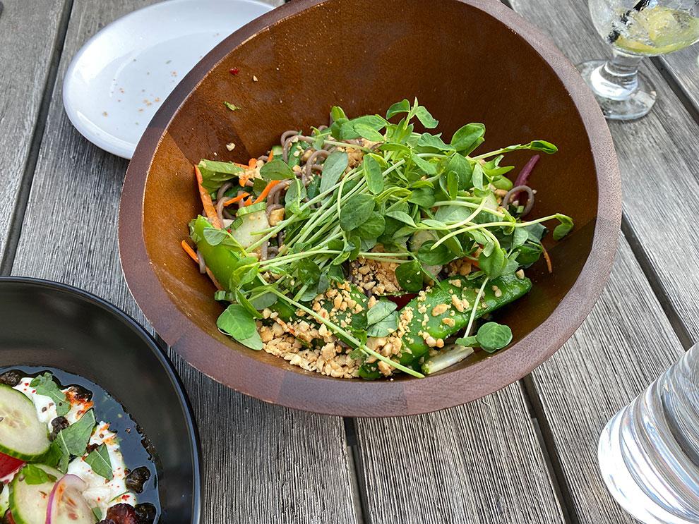 bixi beer soba noodle salad